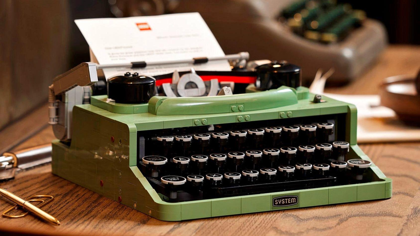 Lego släpper skrivmaskins-byggsats