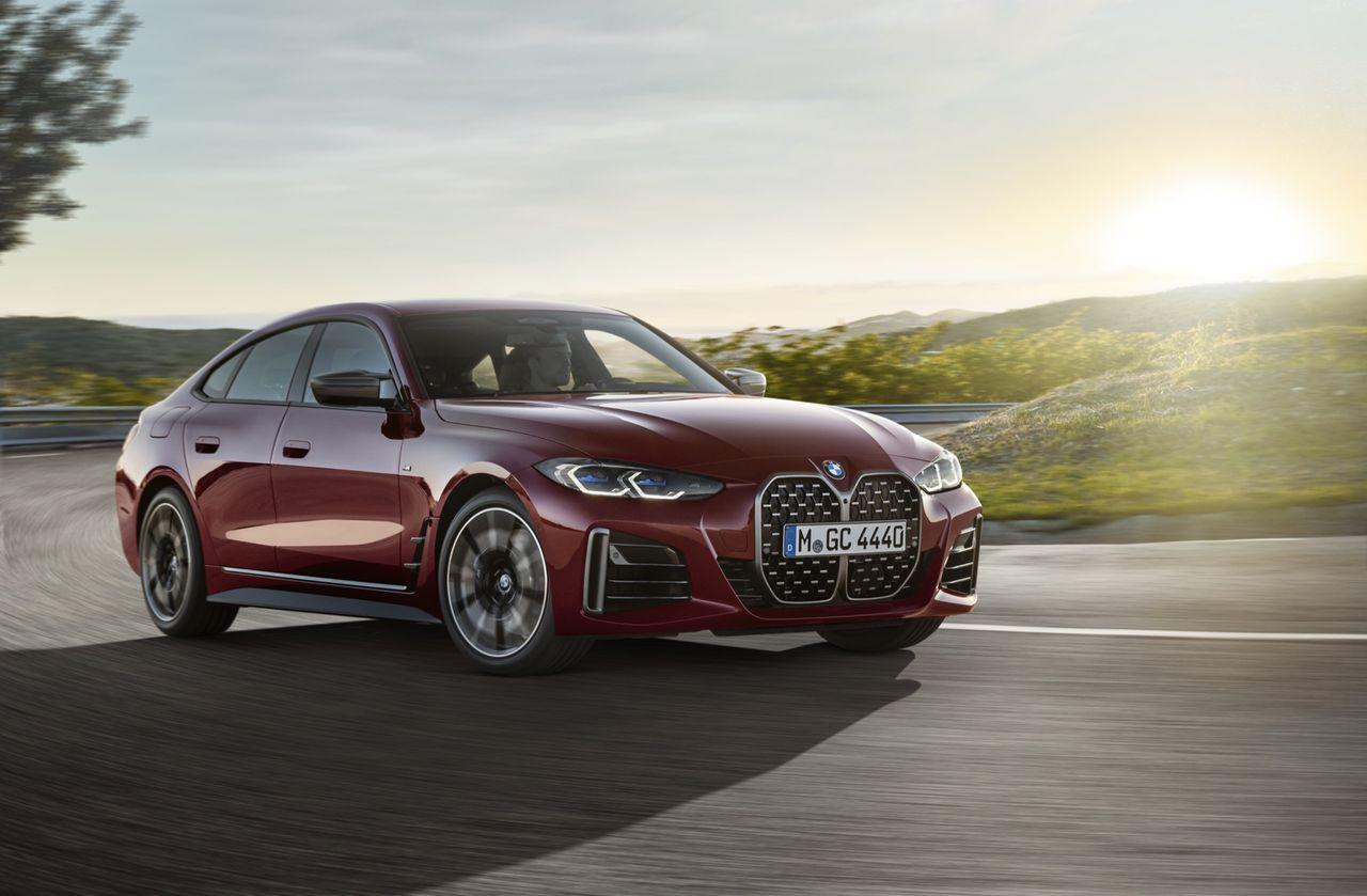 Det här är BMW 4-serien som gran coupe