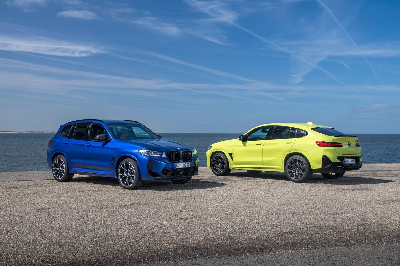Här är BMW X3M och X4M Competition