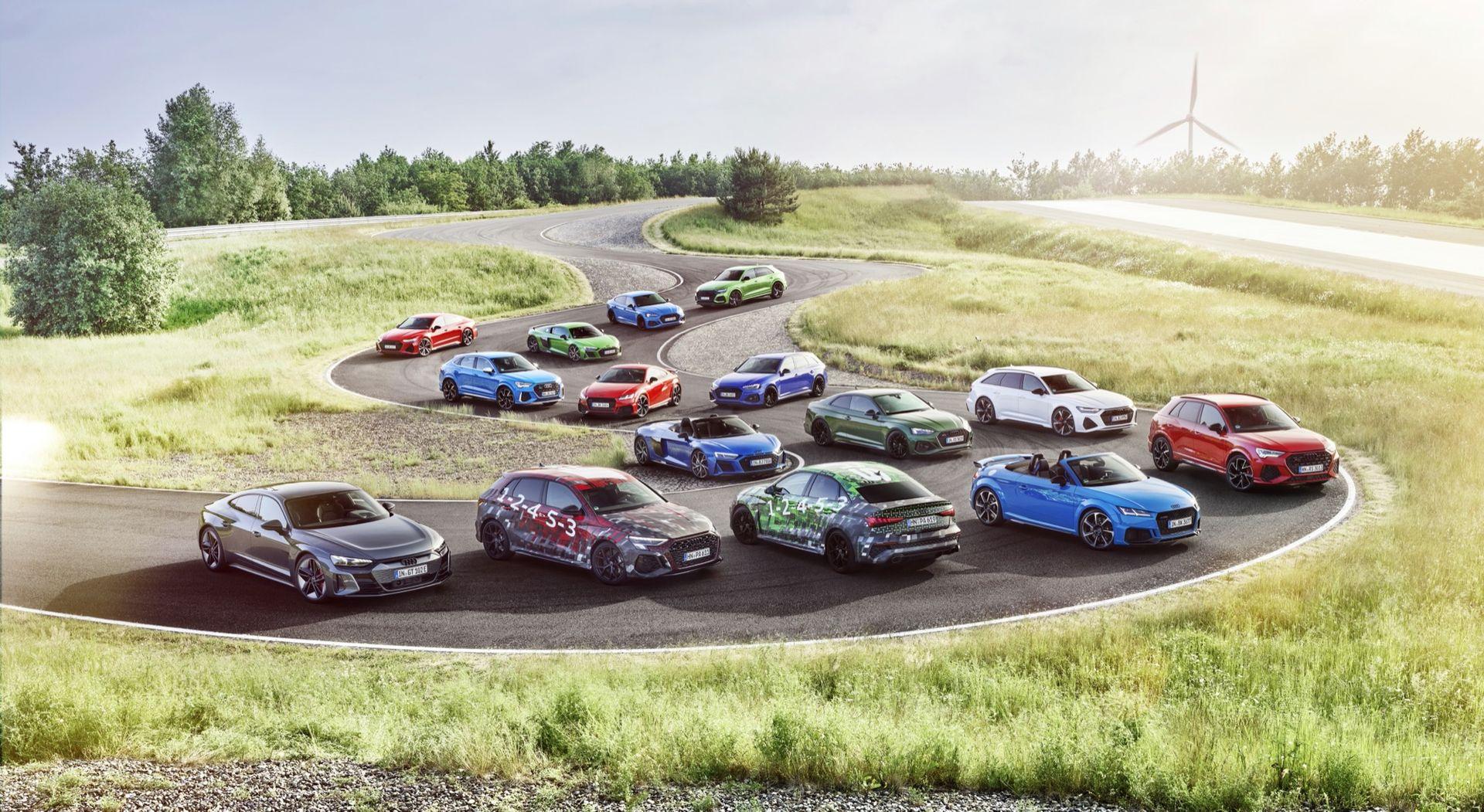 Audi smygvisar RS3
