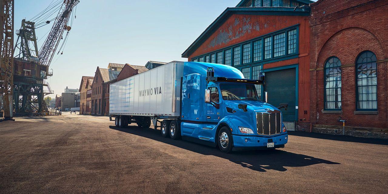Waymos självkörande lastbilar börjar rulla i USA