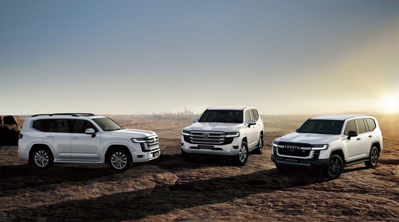 Toyota visar upp ny generation av stora Land Cruiser