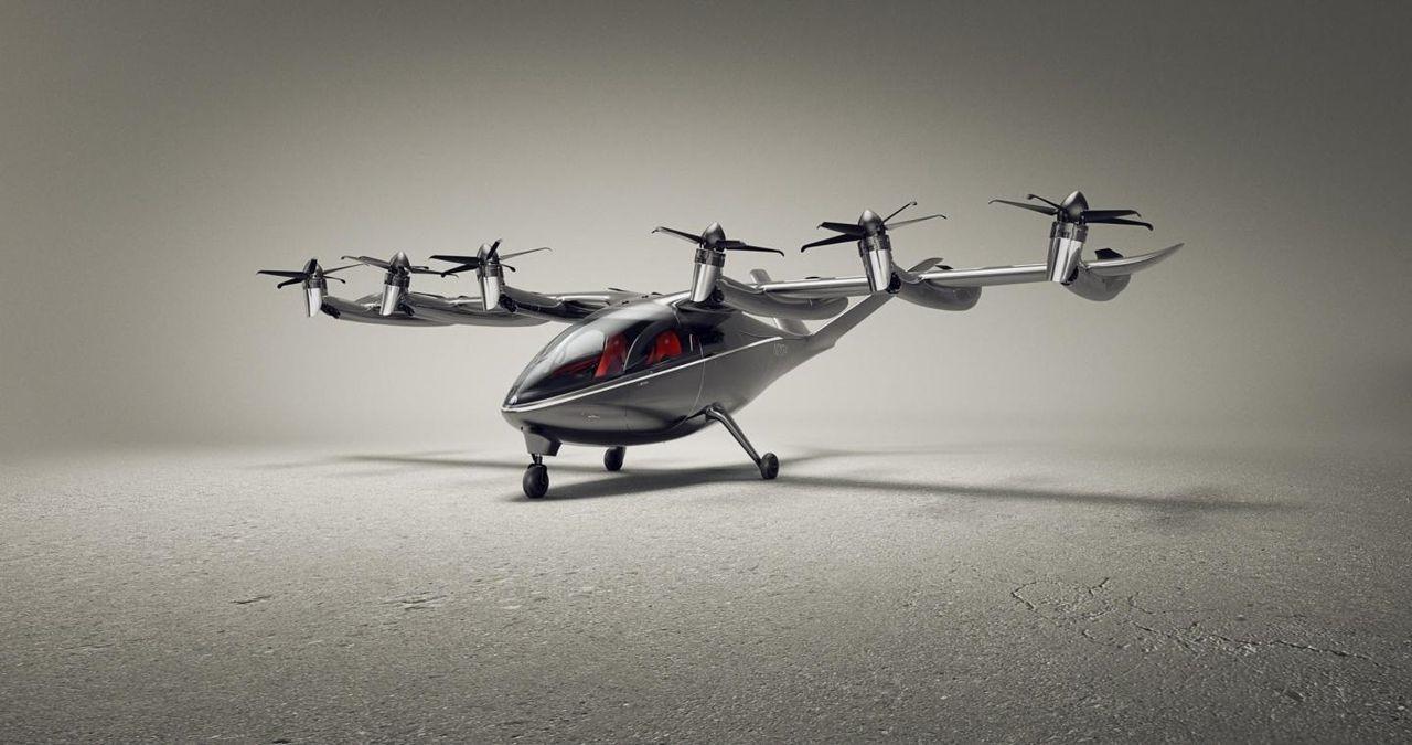 Archer Aviation visar upp elflygplanet Maker