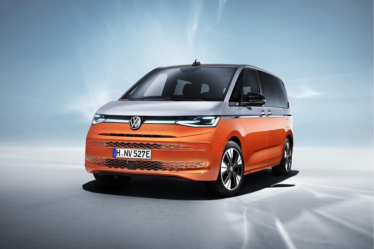 Volkswagen presenterar sjunde generationens folkabuss