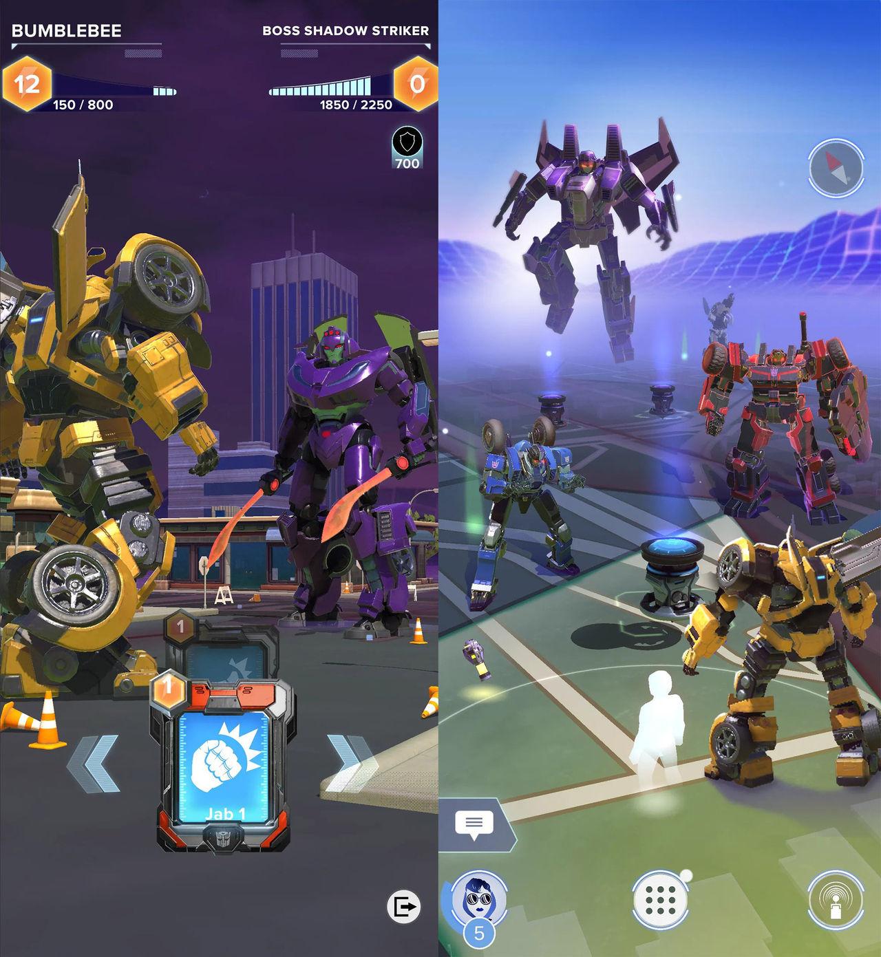 Pokémon Go-skaparan jobbar på nytt Transformers-spel