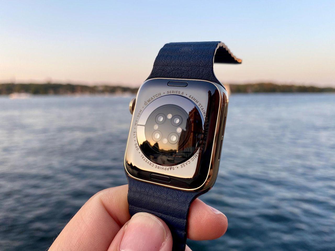 Nästa Apple Watch ryktas få ny skärm