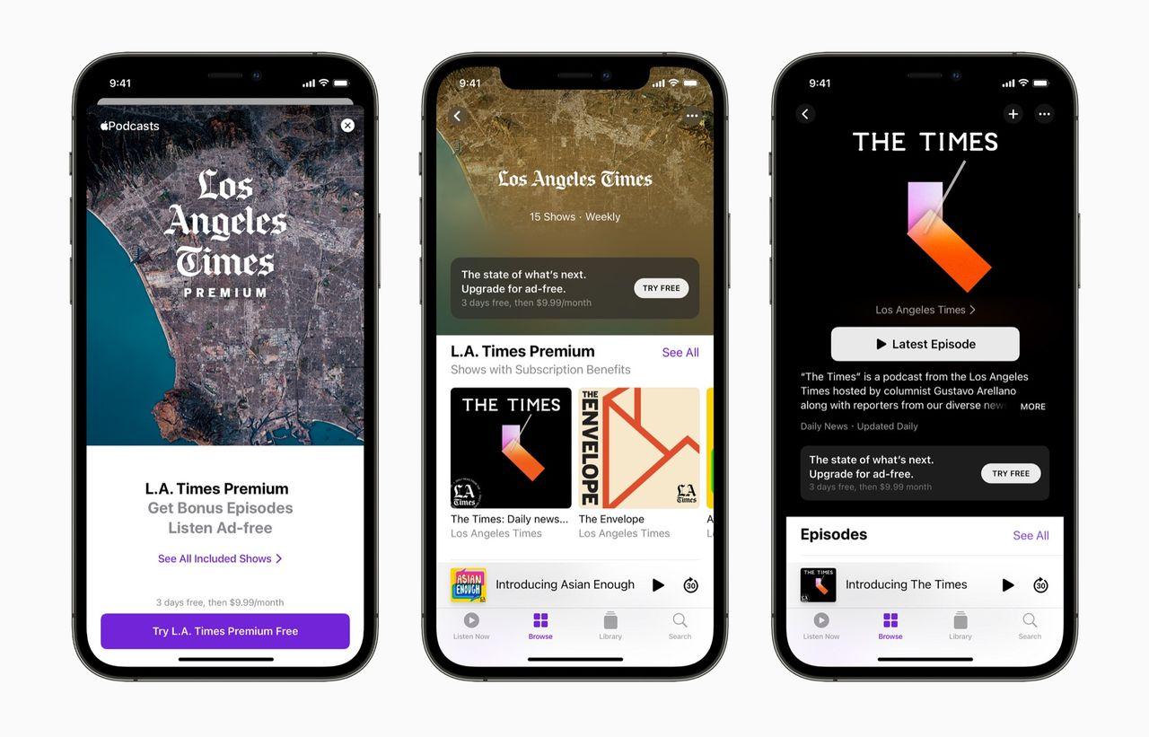 Nu är Apples podcastprenumerationer igång