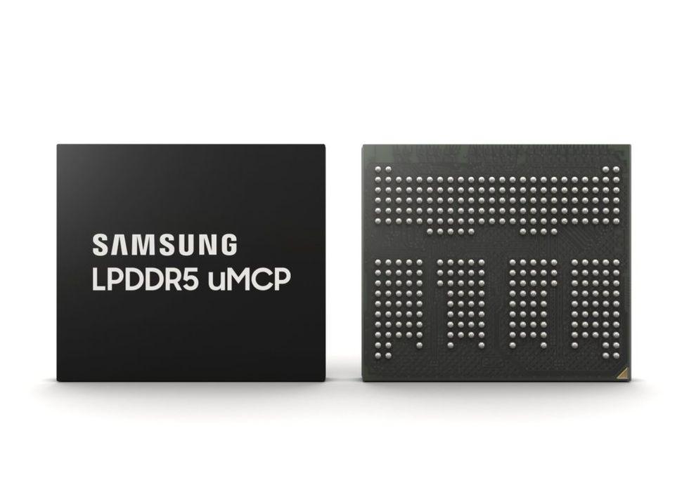 Nytt chip från Samsung med lagring och minne i ett