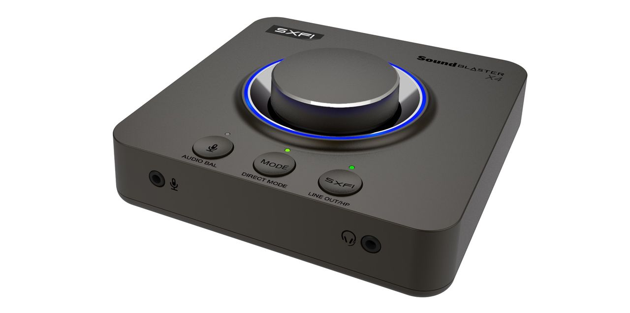 Creative visar upp Sound Blaster X4