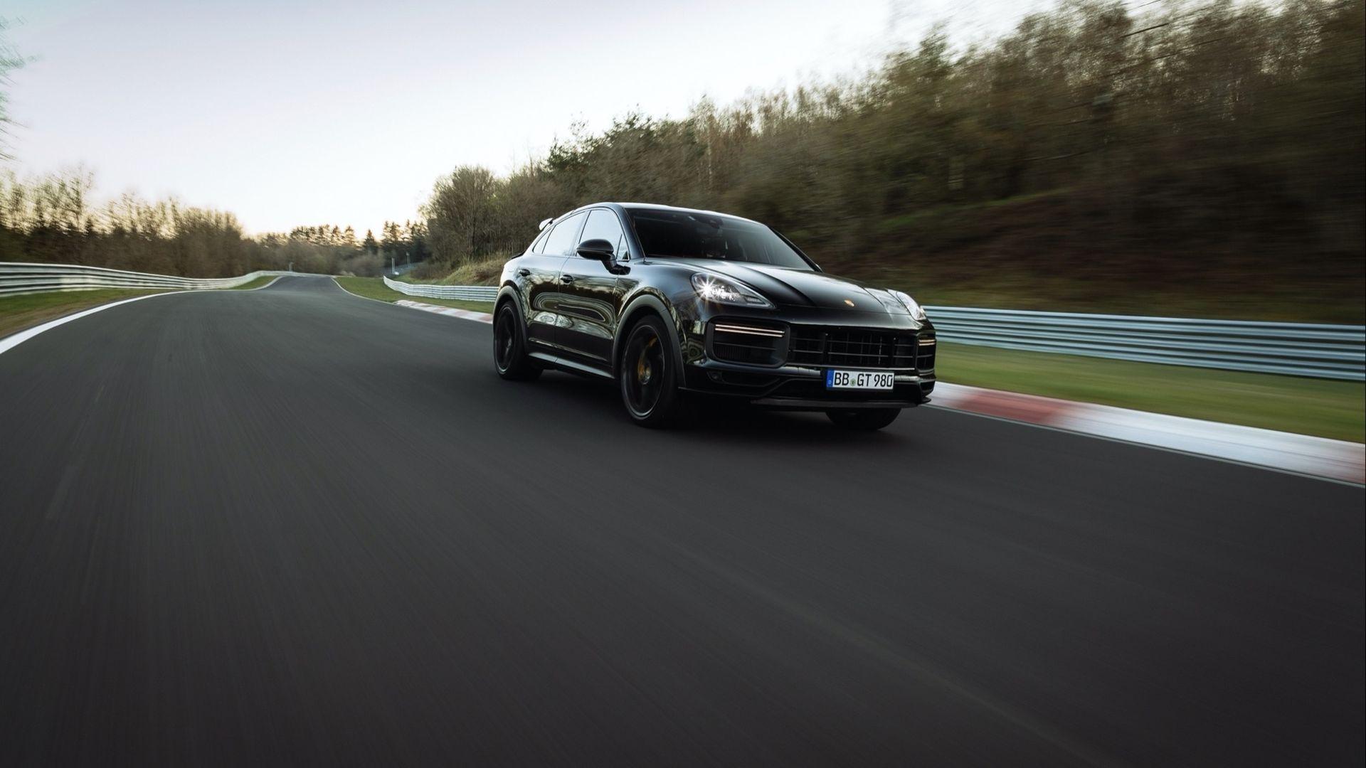 Porsche Cayenne sätter rekord på nordslingan