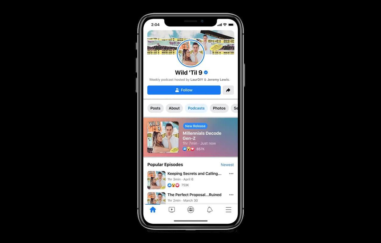 Facebook börjar satsa på podcasts