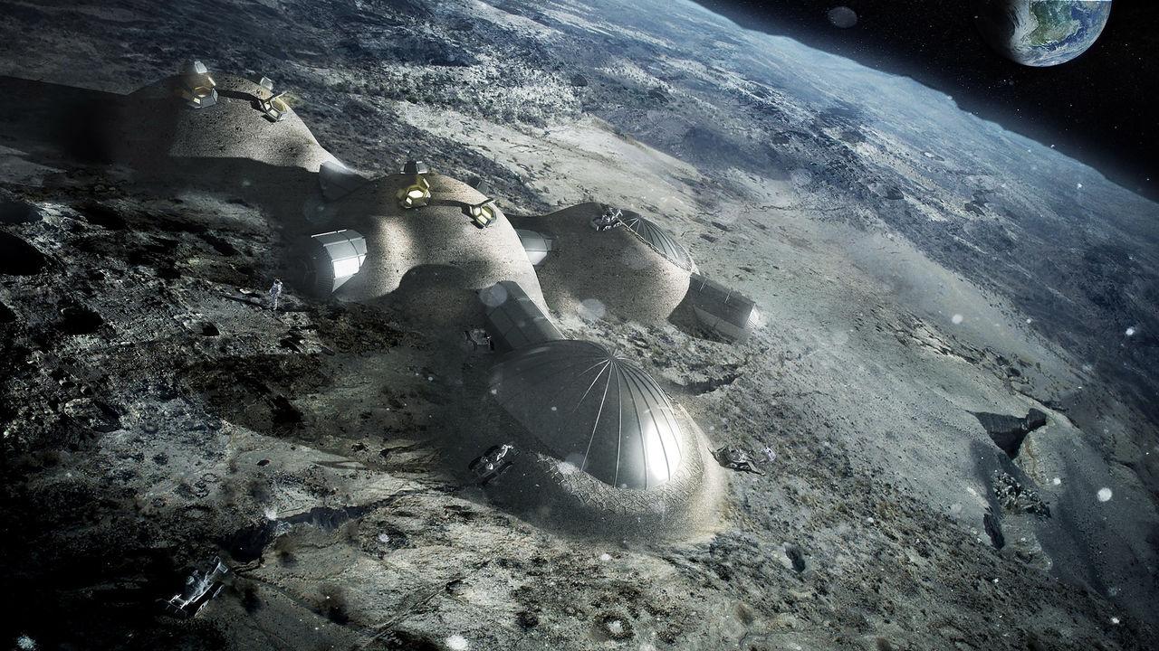 Kina och Rysslands månbas ska vara klar nästa årtionde