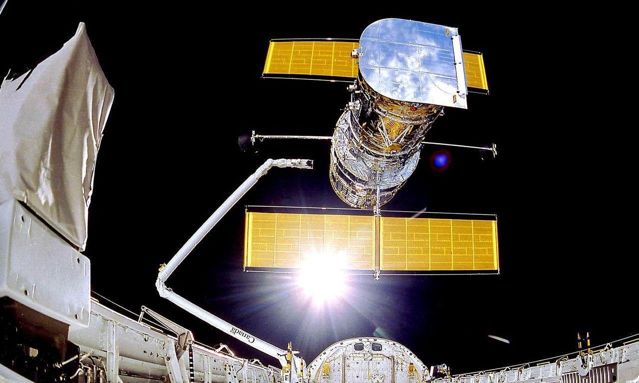 En av Hubble-teleskopets datorer har ballat ur