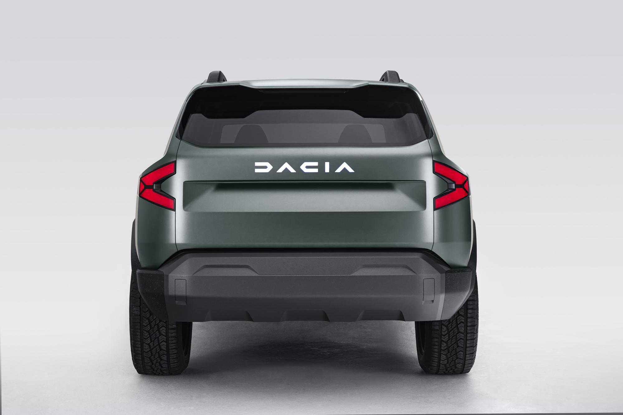 Dacia har fått ny grafisk profil En tuffare och kantigare sådan