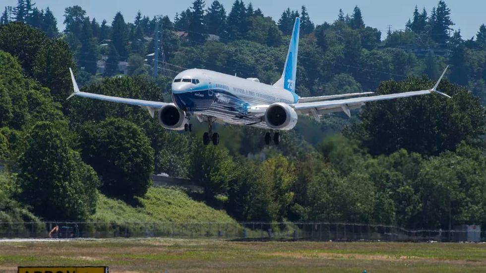 Boeing 737 Max 10 har flugit för första gången