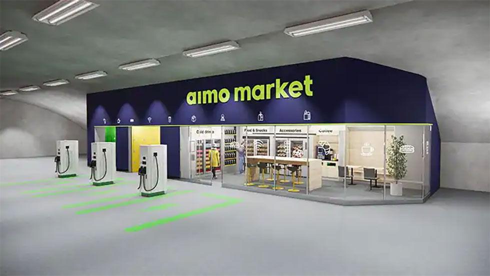 Aimo bygger elbilsmack i parkeringsgarage