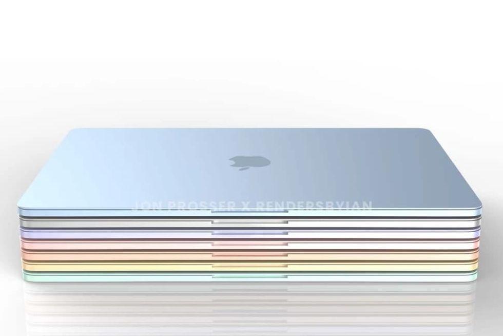 Apple ryktas ha ny design på MacBook Air på gång