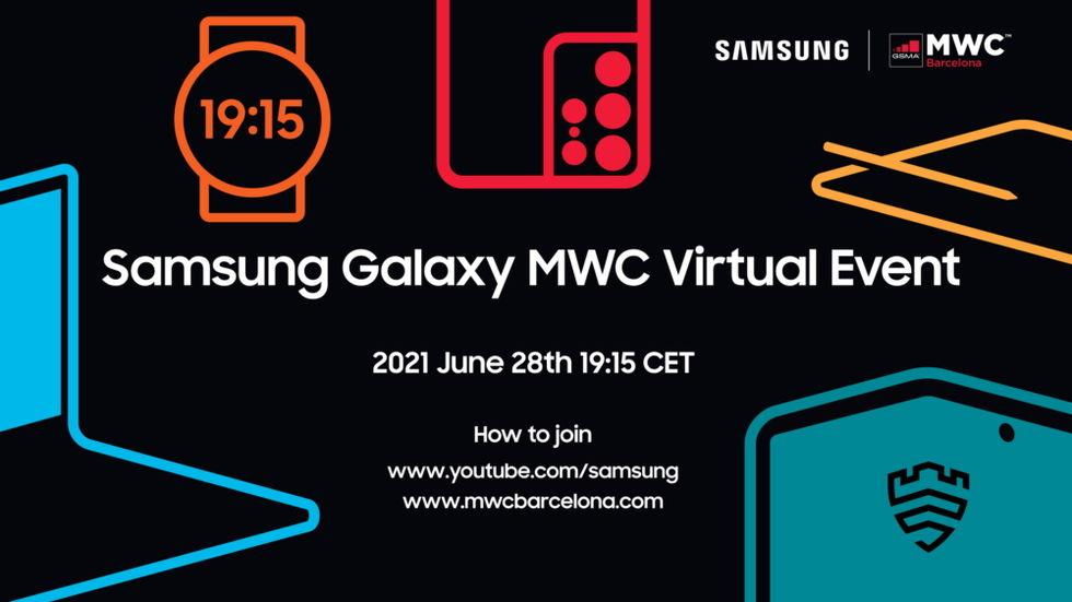 Samsung bjuder in till MWC-fest 28 juni