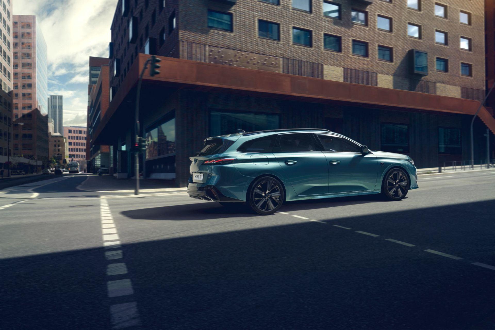 Peugeot visar nya 308 SW