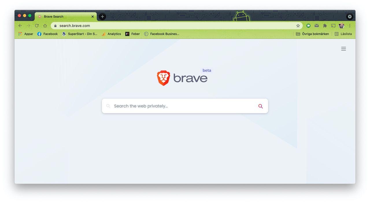 Brave lanserar sökmotor