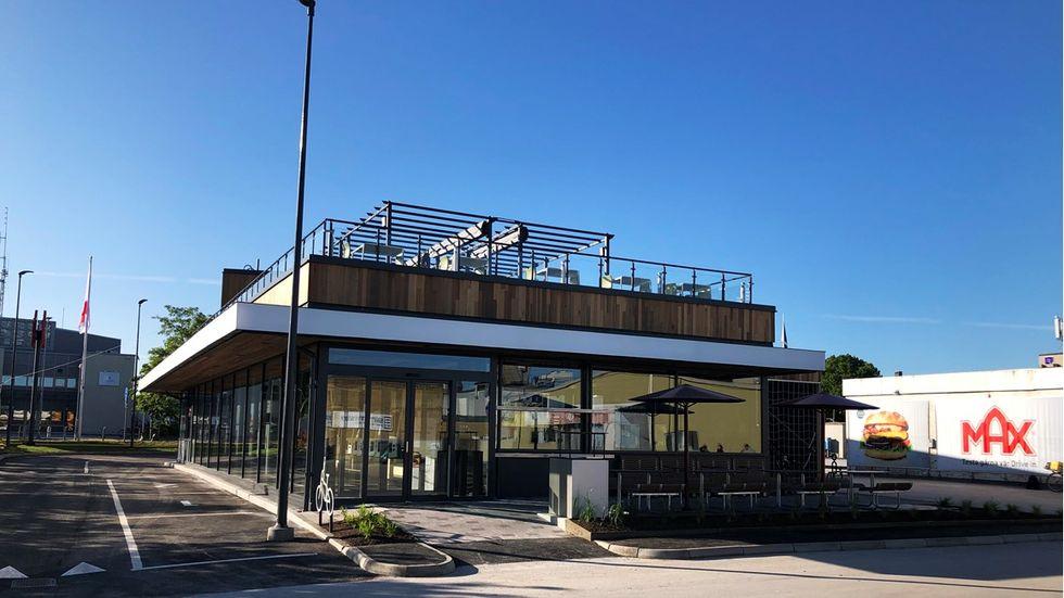 Visby får en MAX-restaurang med takterass