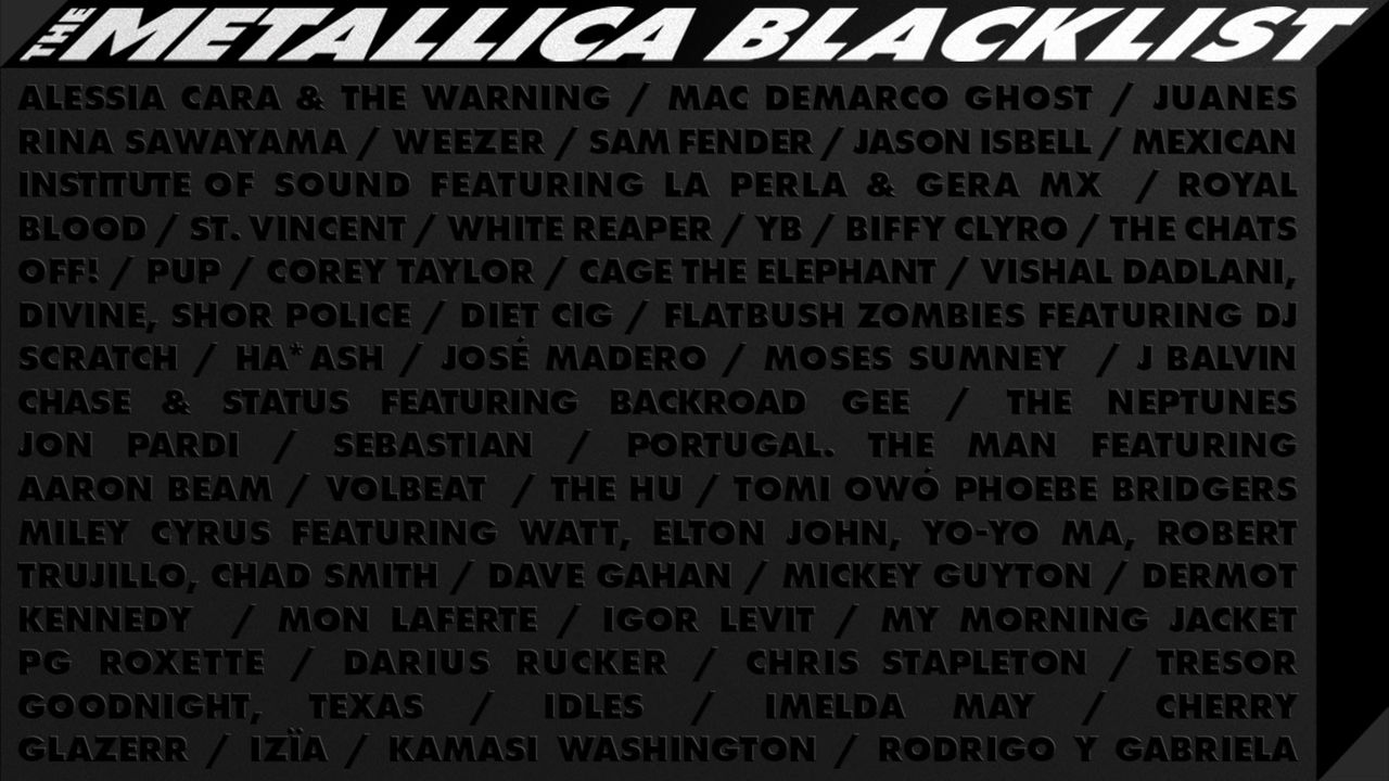 Metallica presenterar Metallica Blacklist