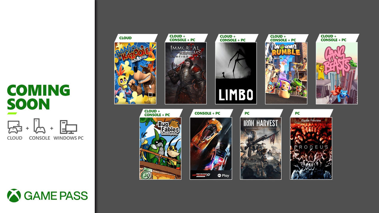 Microsoft snackar junis Game Pass-spel