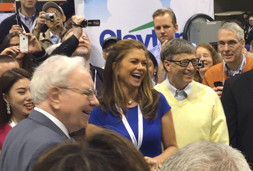 Warren Buffett lämnar Bill and Melinda Gates Foundation