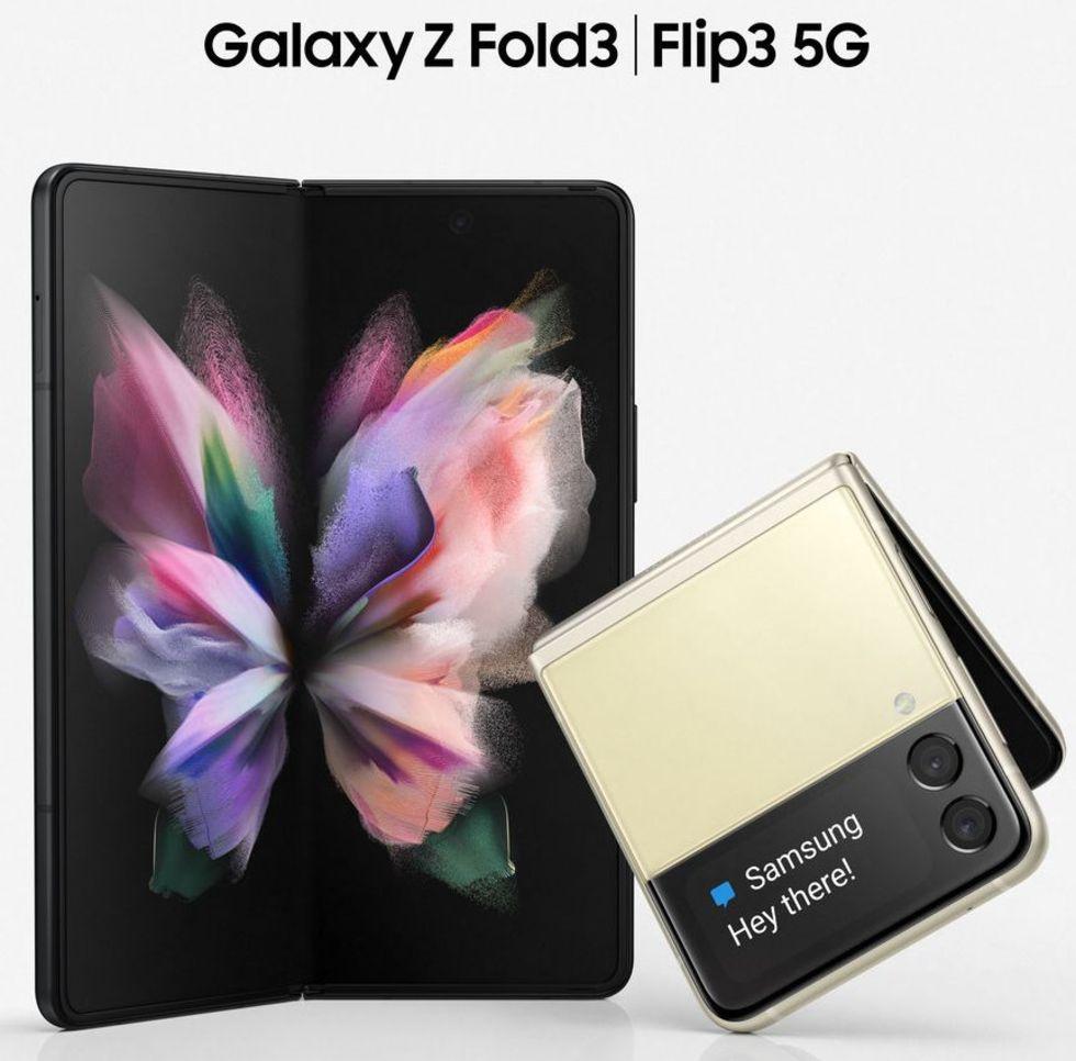 Samsung Galaxy Z Fold 3 och Z Flip 3 läcker ut