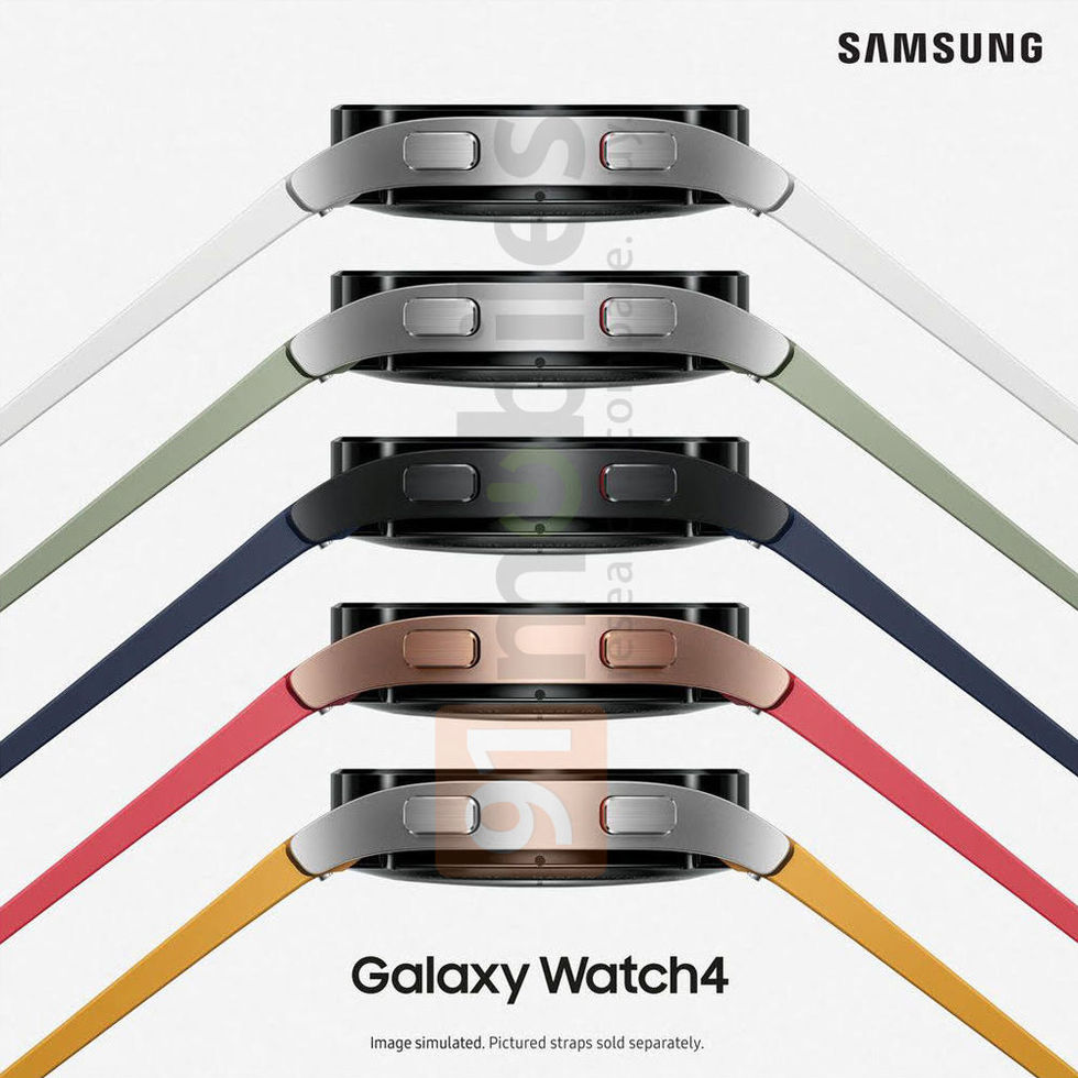 Läckta bilder visar Samsung Galaxy Watch 4