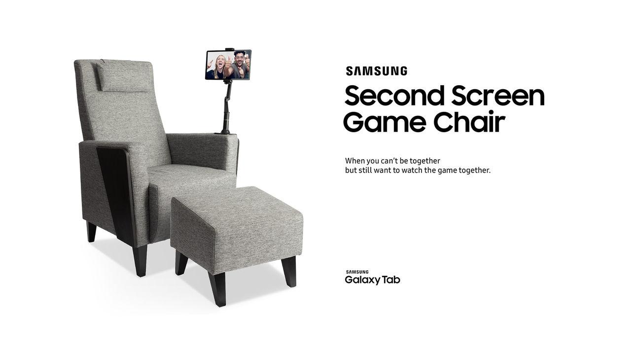 Samsung visar upp Second Screen Game Chair