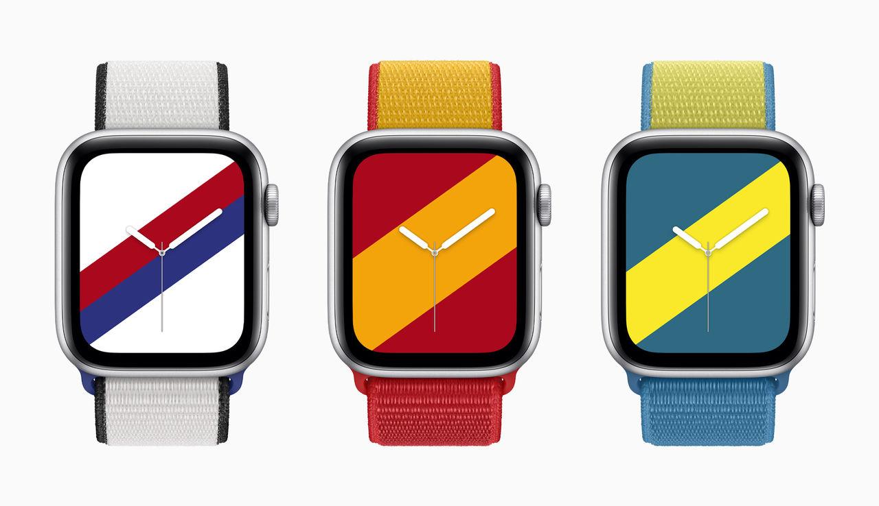 Apple släpper nya armband till Watch med landstema
