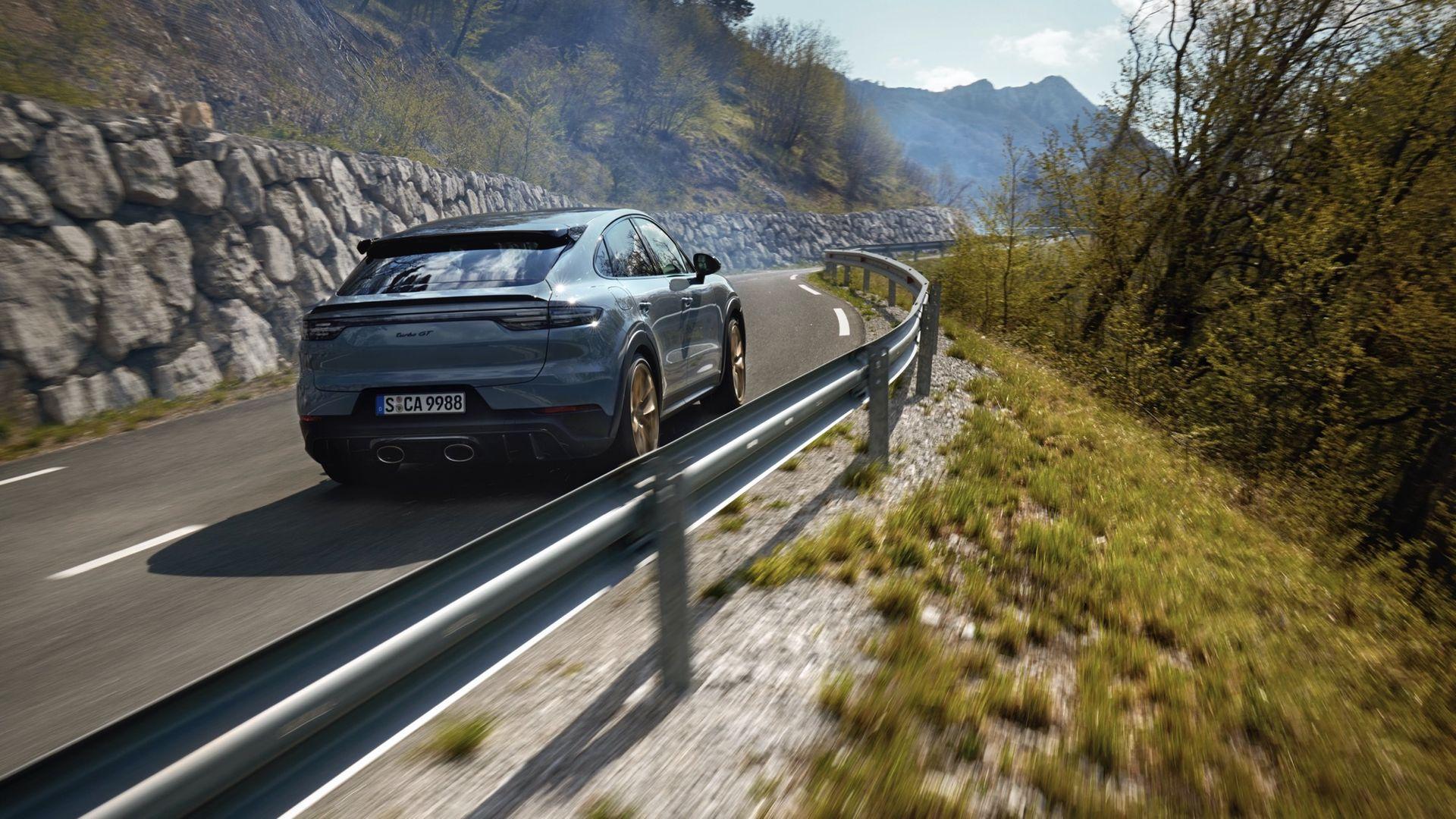 Porsche visar Cayenne Turbo GT