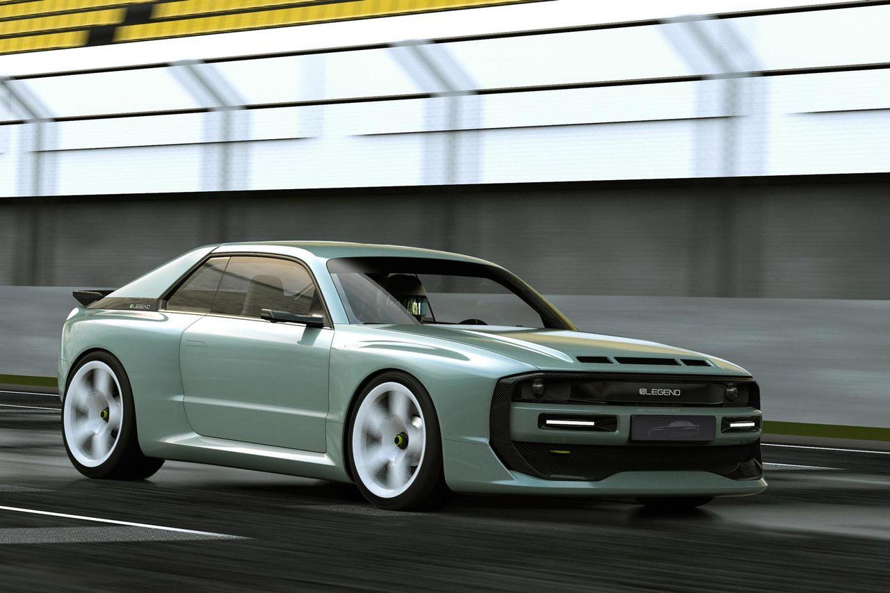 Elektrisk superbil med quattro-känsla