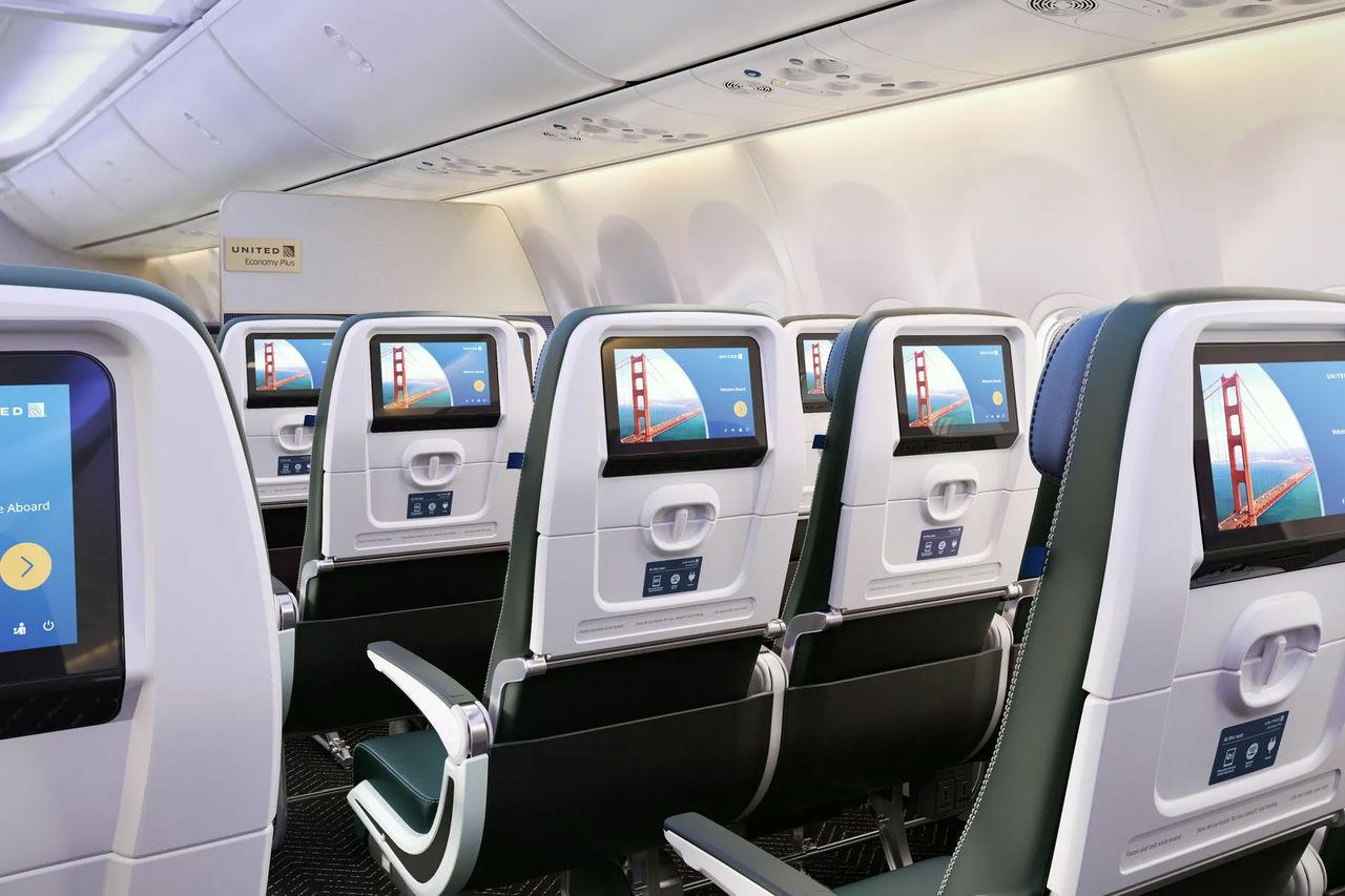 Nu får skärmar på flygplan bluetooth