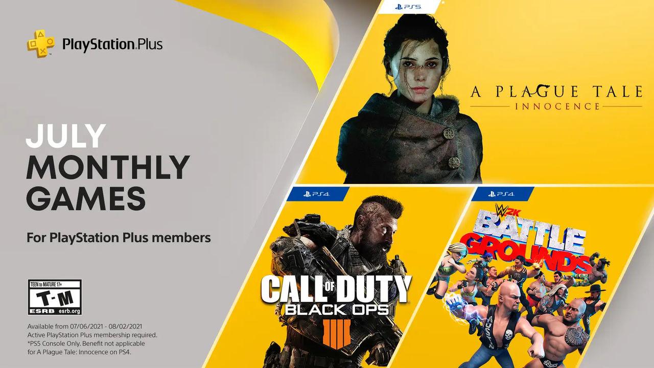 A Plague Tale: Innocence och Black Ops 4 till PlayStation Plus nästa månad