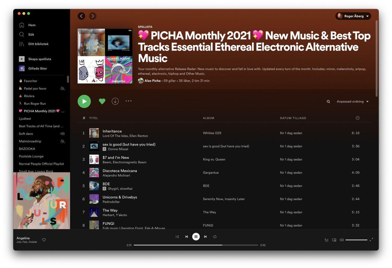 Spotify släpper beta för M1-Macar