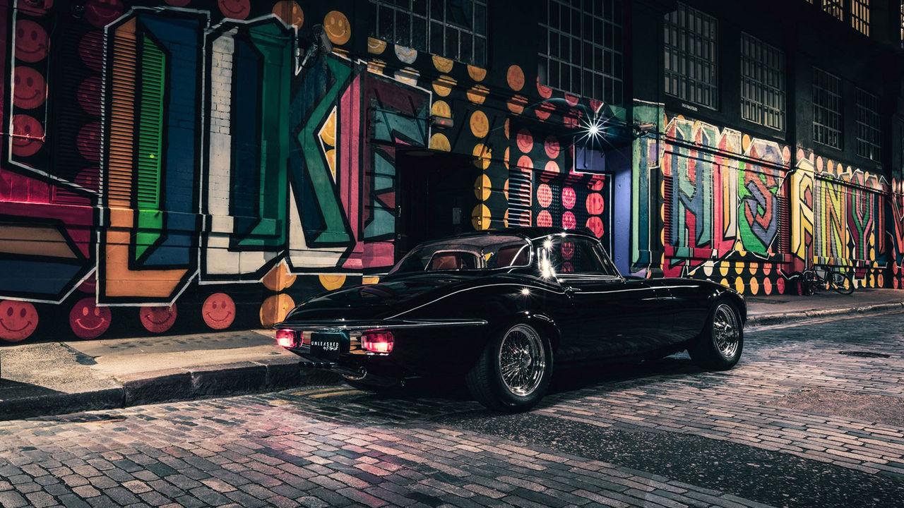 Jaguar E-type har moderniserats