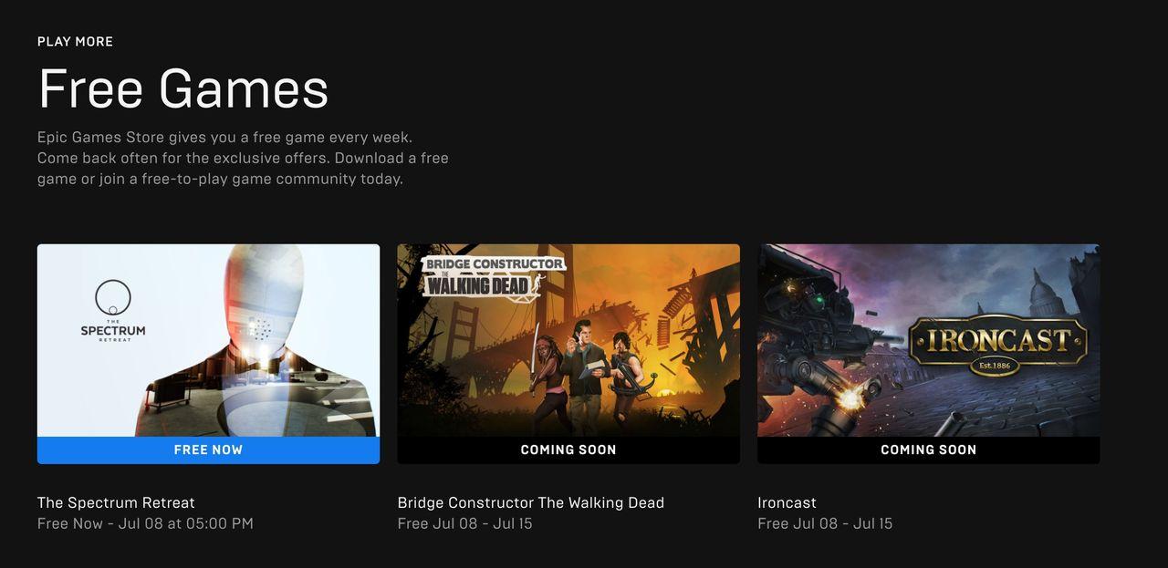 Epic avslöjar vilka spel du kan få