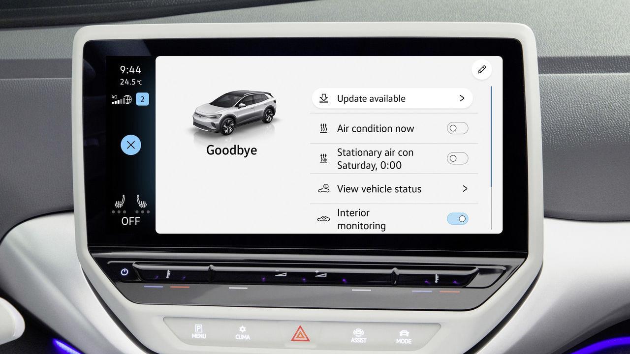 Nu börjar Volkswagen med uppdateringar via internet
