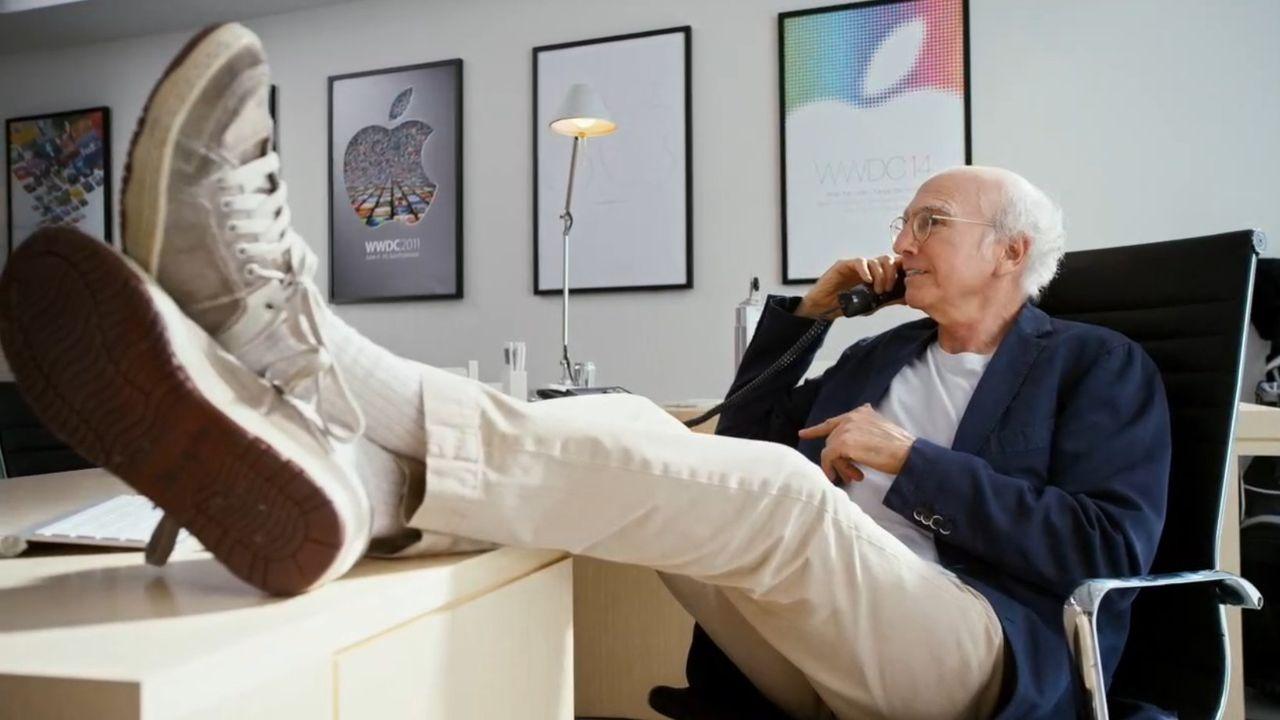 Larry David skulle varit med i WWDC-introfilm