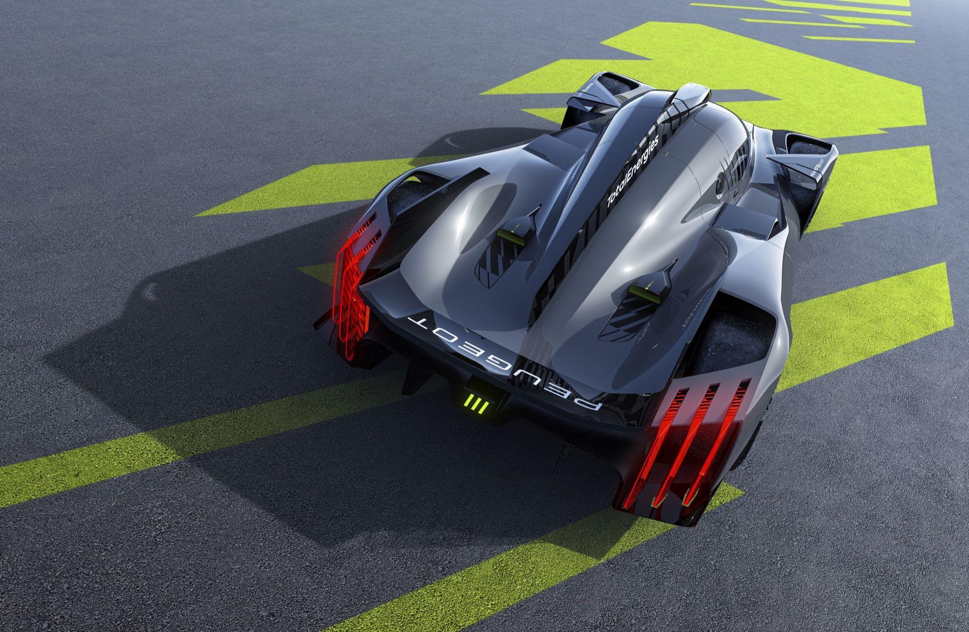 Peugeot visar nya racingbilen 9X8