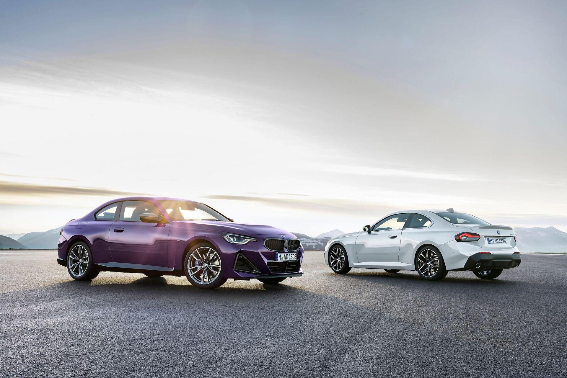 Det här är helt nya BMW 2-serie coupe