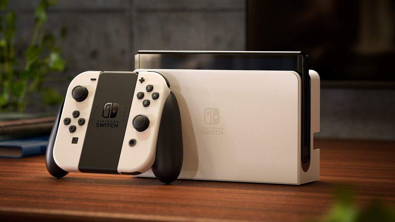 Dockningsstationen till nya Switchen kan köpas separat