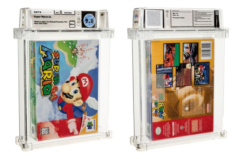 Oöppnad kopia av Super Mario 64 såld för 1,56 miljoner dollar