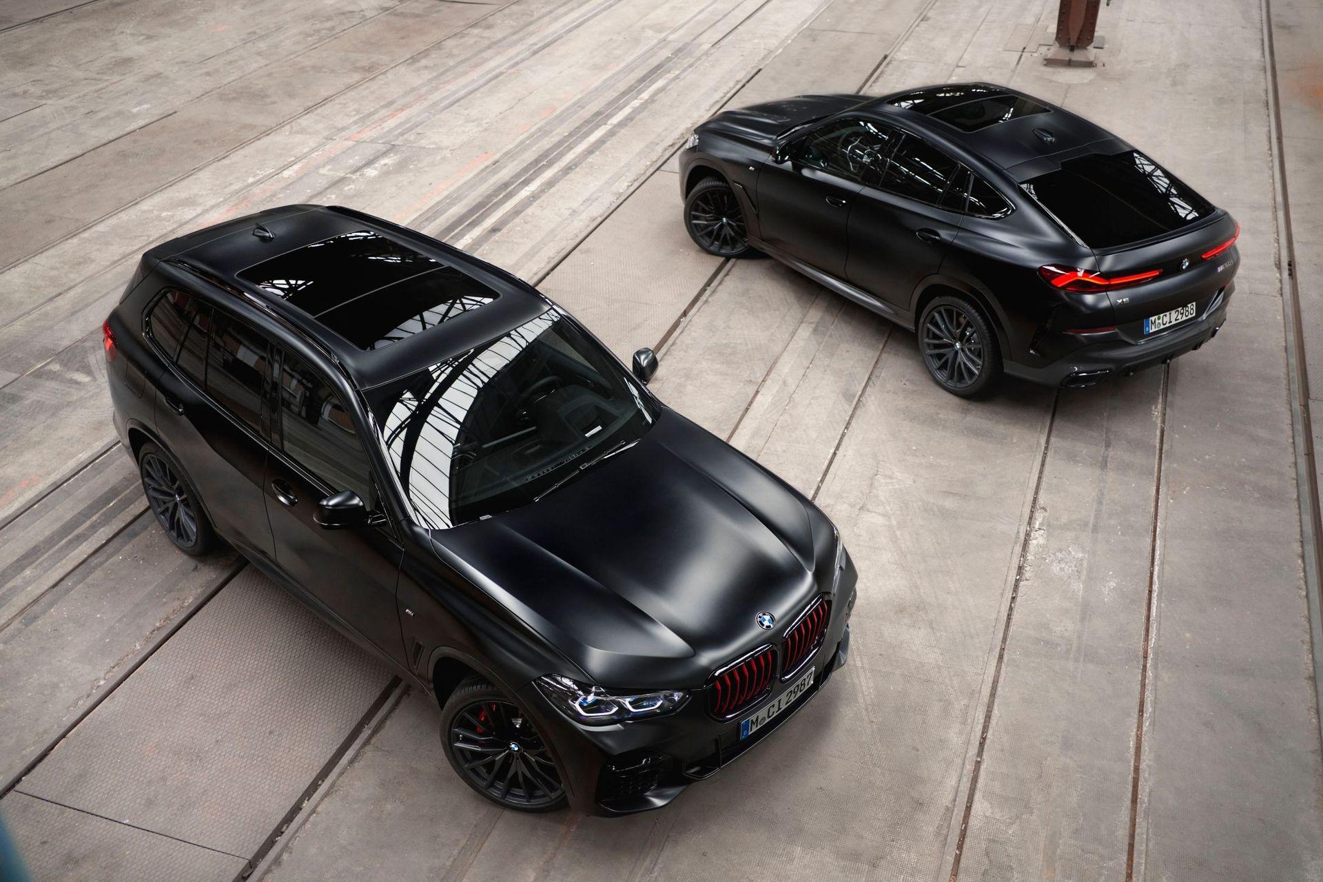 BMW släpper frostsvarta versionen av X5/X6/X7