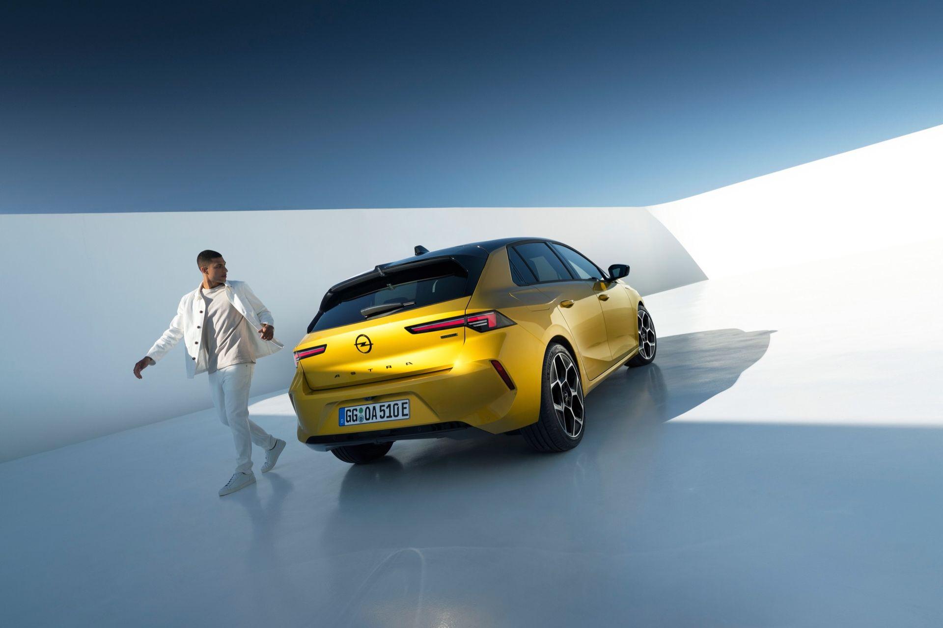 Det här är nya Opel Astra