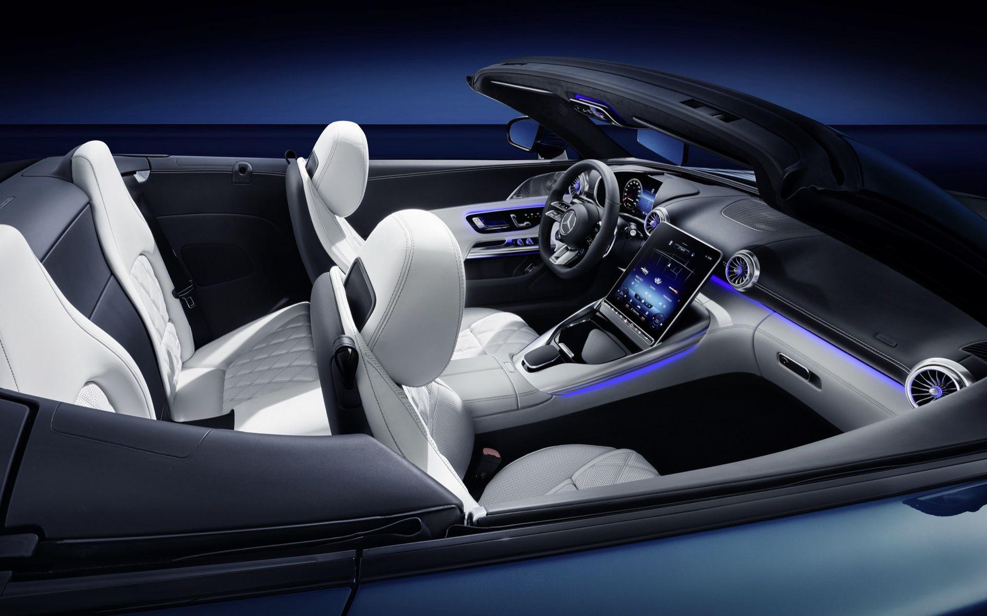Inredningen på nya Mercedes SL