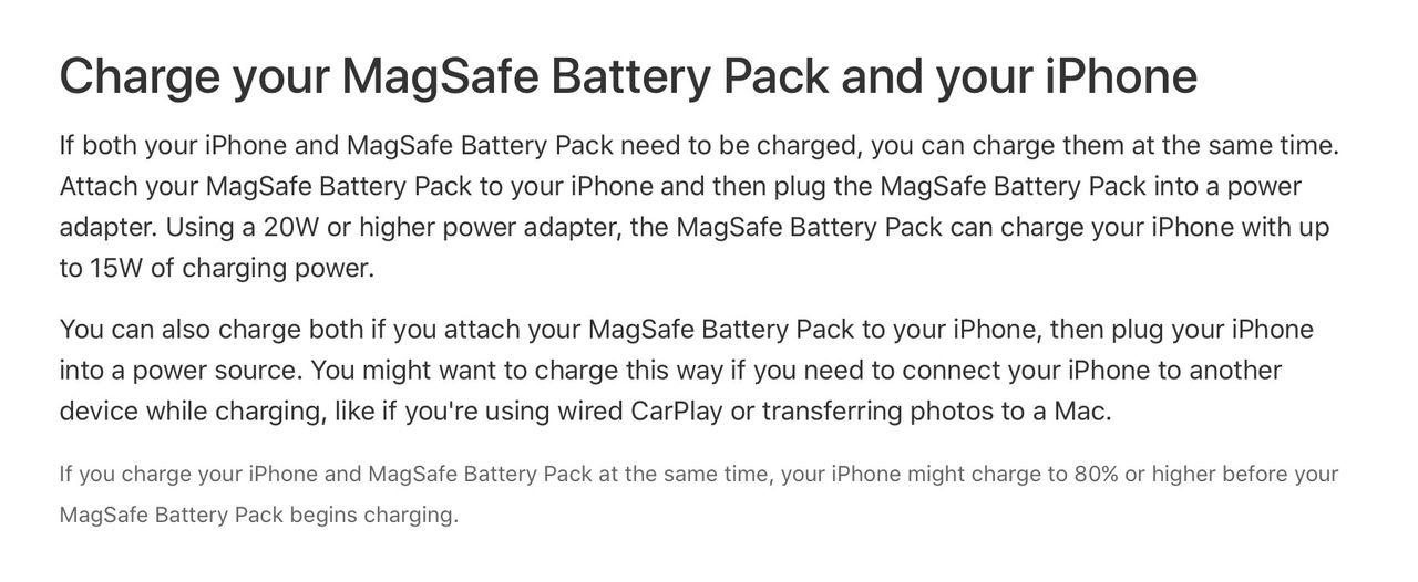 iPhone 12 kan ladda andra saker trådlöst