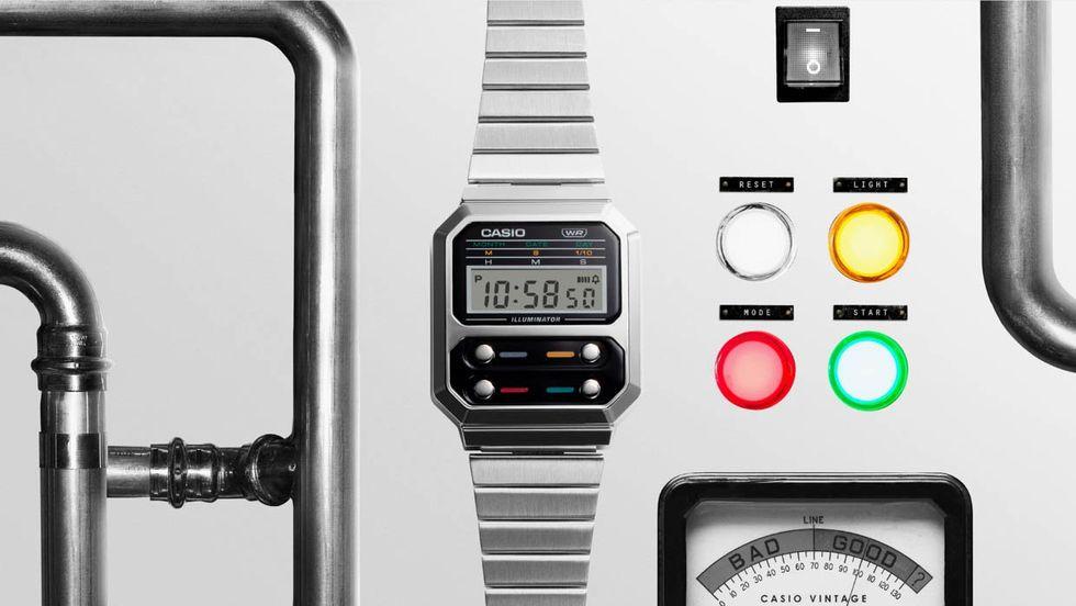 Casio släpper ny version av klassiskt digitalur